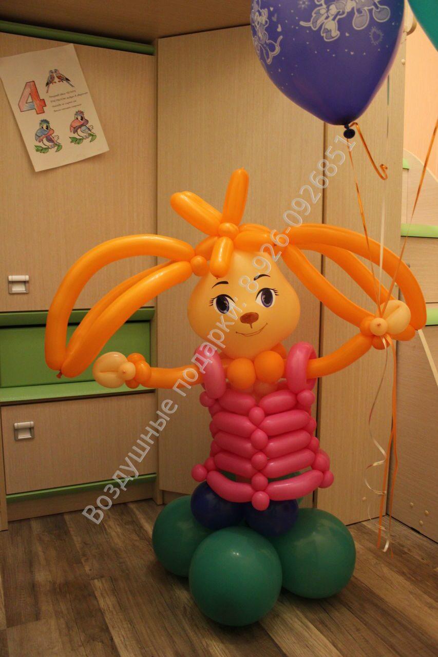 Фигура из шаров ребенок фото
