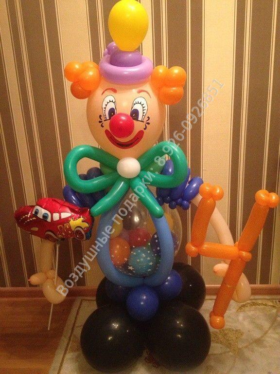 Сделать клоуна из шариков своими руками 42