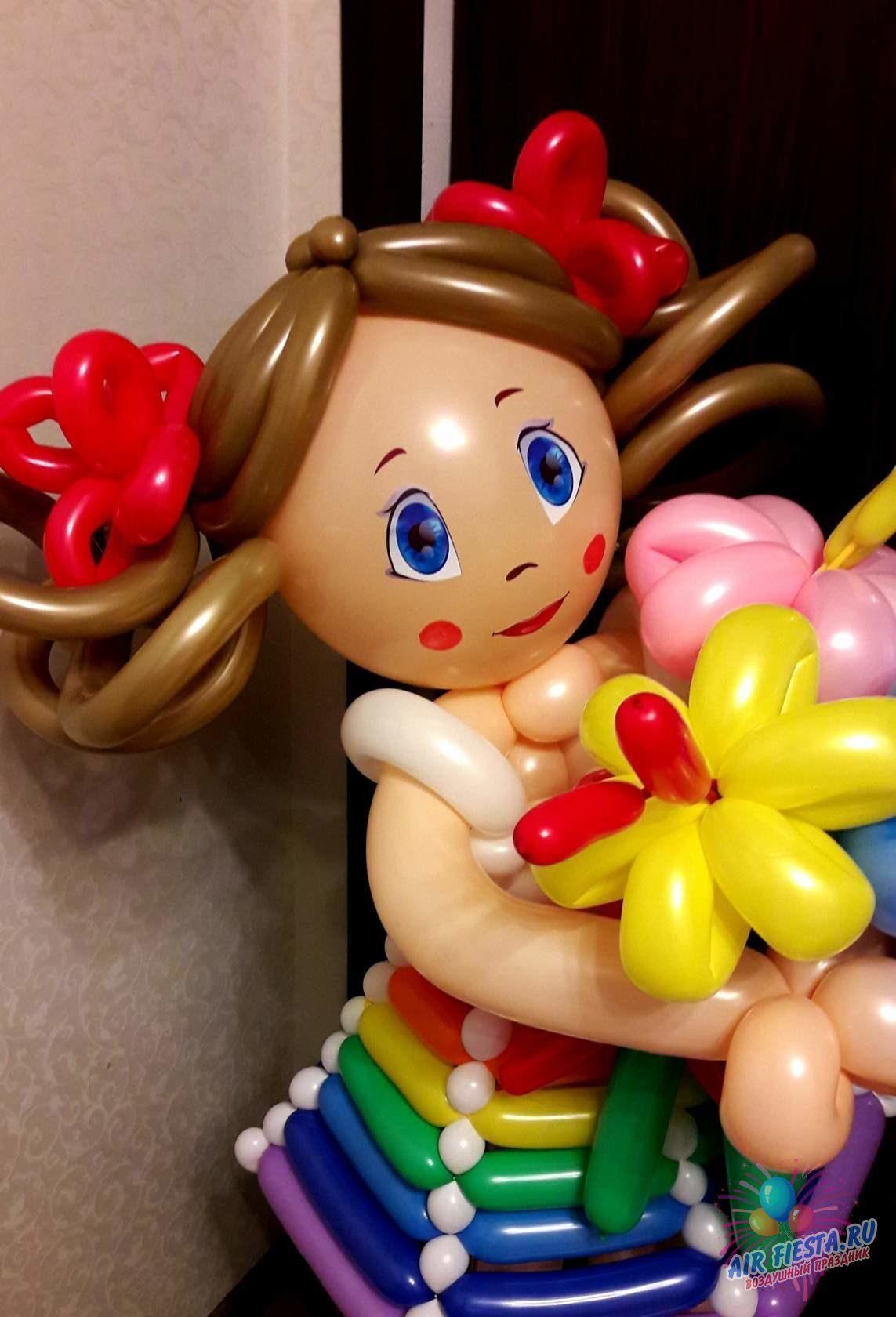 Куклы своими руками из шаров 77